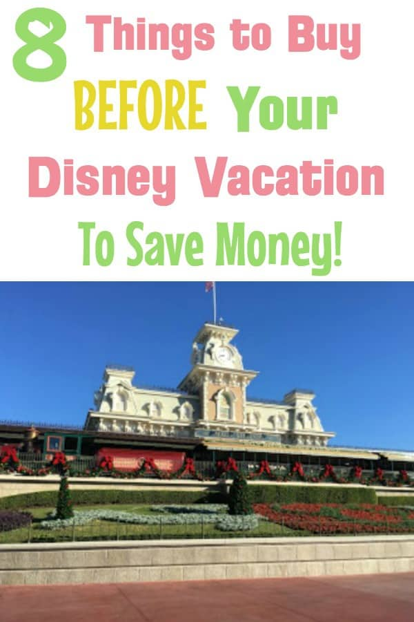 What not to buy at Disney World -- things to buy from Amazon before your trip