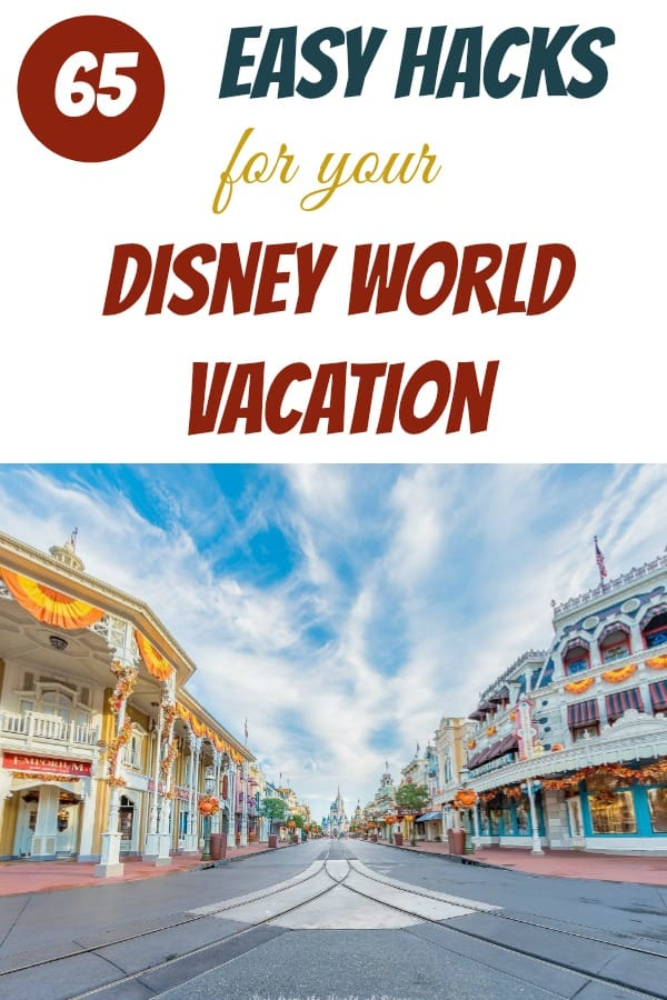 Walt Disney World vacation Hacks