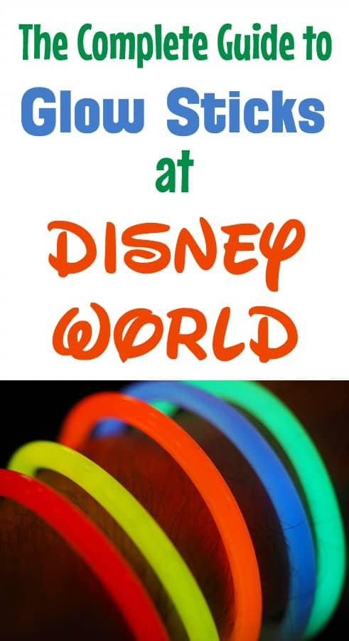 Glow Sticks and light up toys at Disney World