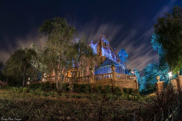 Haunted Mansion ride at Disney World