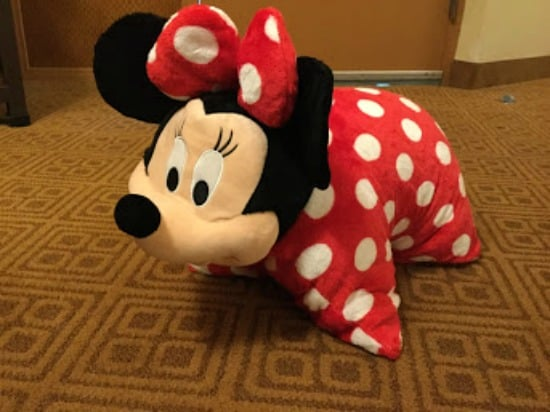 Stuffed Minnie Mouse souvenir for toddlers and preschoolers