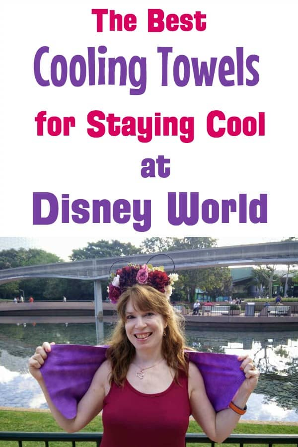 Best Cooling Towels for staying cool at Disney World