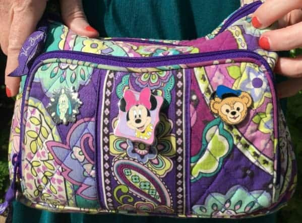 Vera Bradley Crossbody purse for Disney World