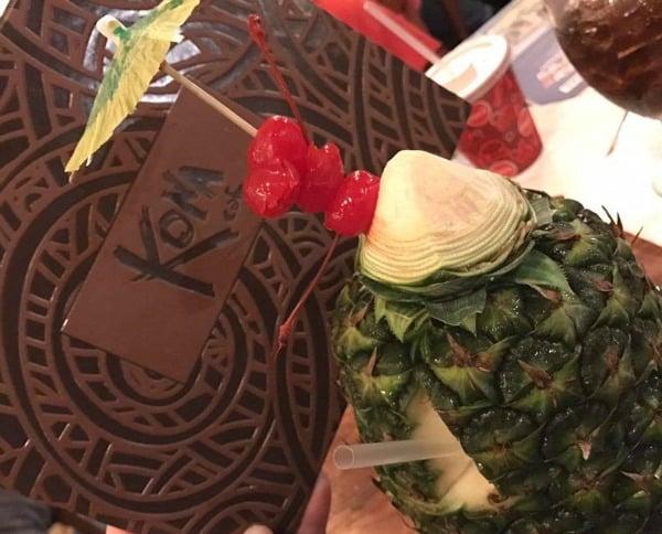 Kona Cafe restaurant at the Polynesian Resort