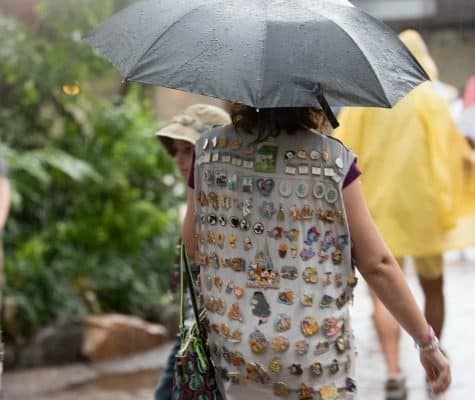 Umbrellas at Disney World (and the Best Compact Travel Umbrellas)
