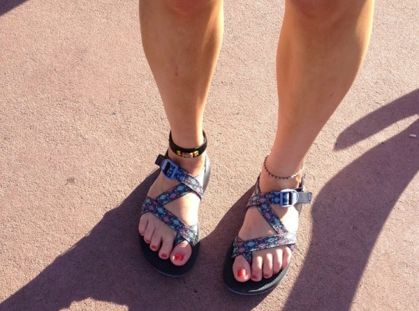 Womens sandals at Disney World