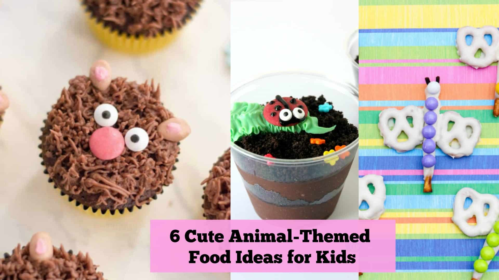9 Cute Animal Themed Food Ideas for Kids