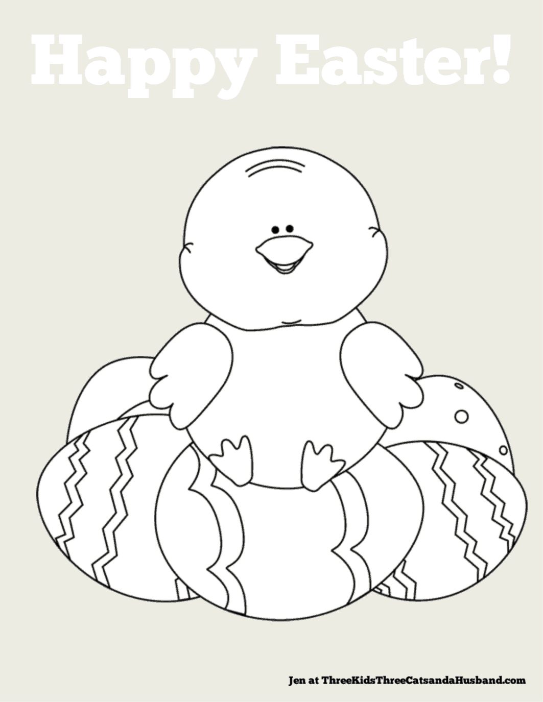 - Free Printable Easter Coloring Pages For Kids (Cute And Fun!)