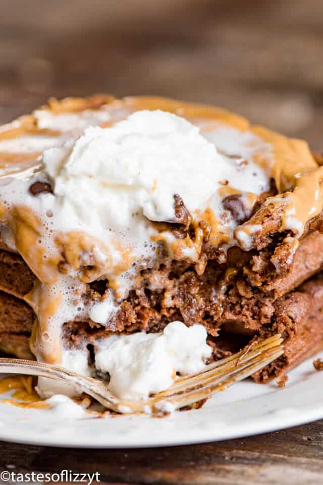 Chocolate waffles recipe with ricotta cheese
