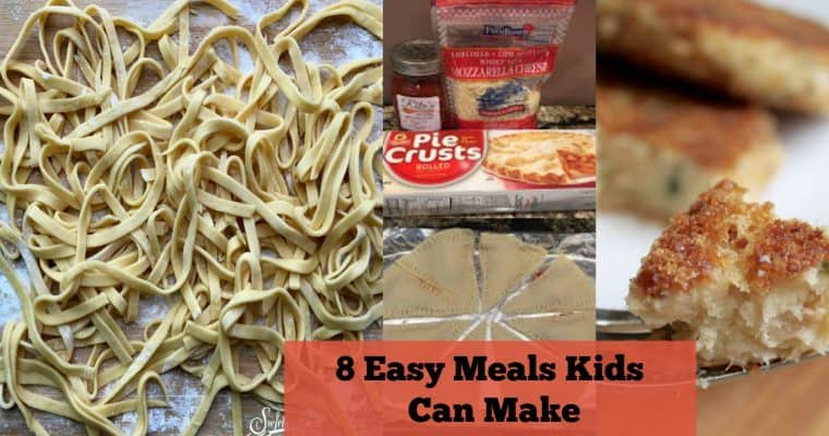 8 Easy Dinner Recipes Kids Can Make