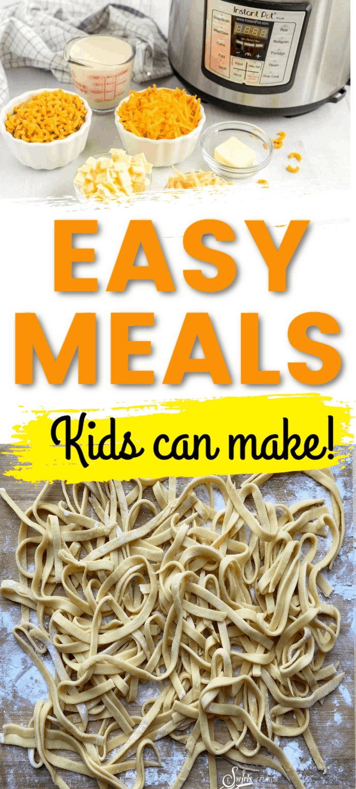 Easy Meals kids can cook