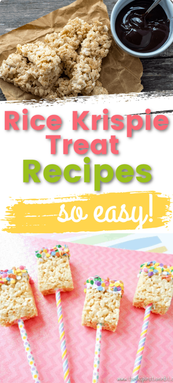 Easy Rice Krispie Treat Recipes