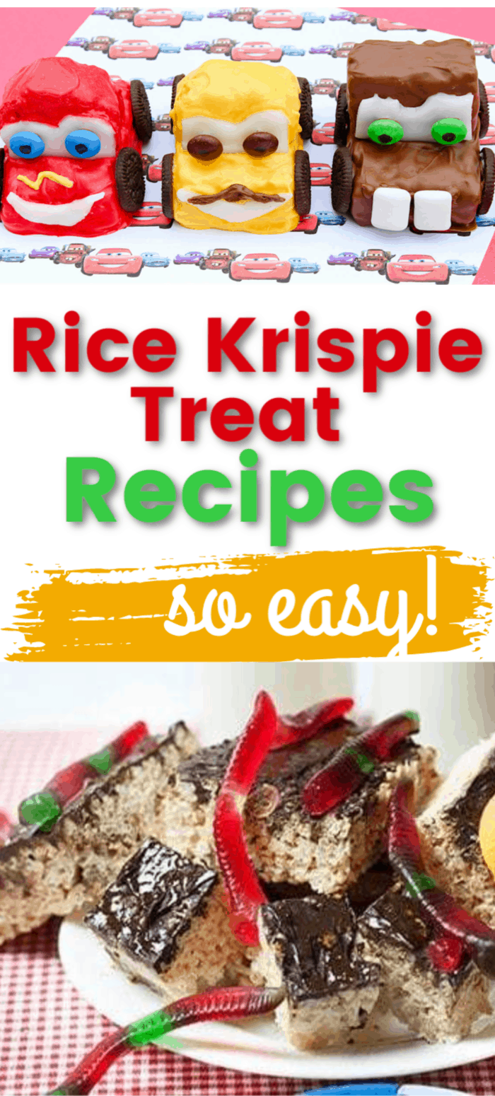 Easy Rice Krispie Treat Recipes for kids