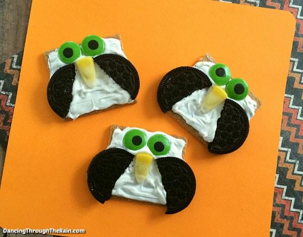 Oreo Owl Cookies