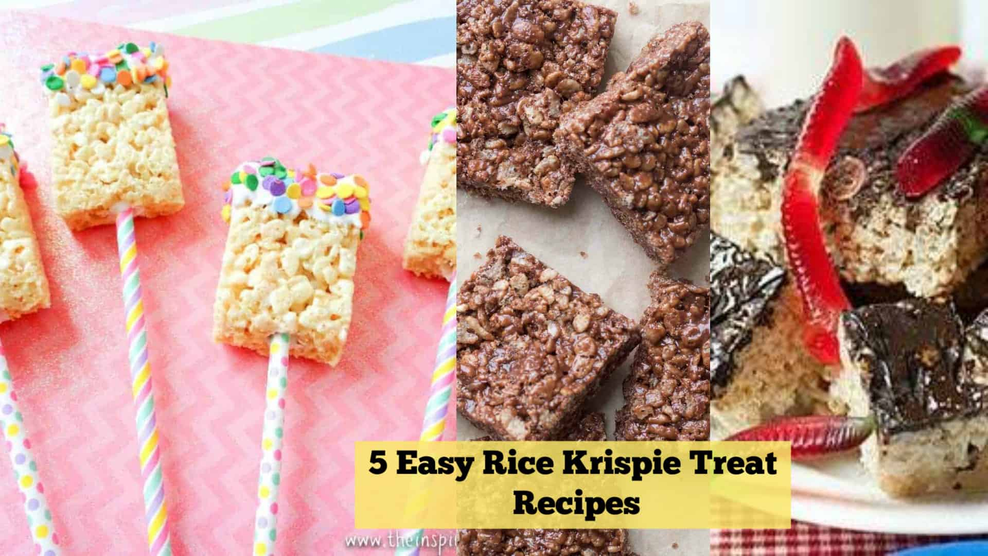 5 Easy Rice Krispie Treat Recipes That Kids Can Make