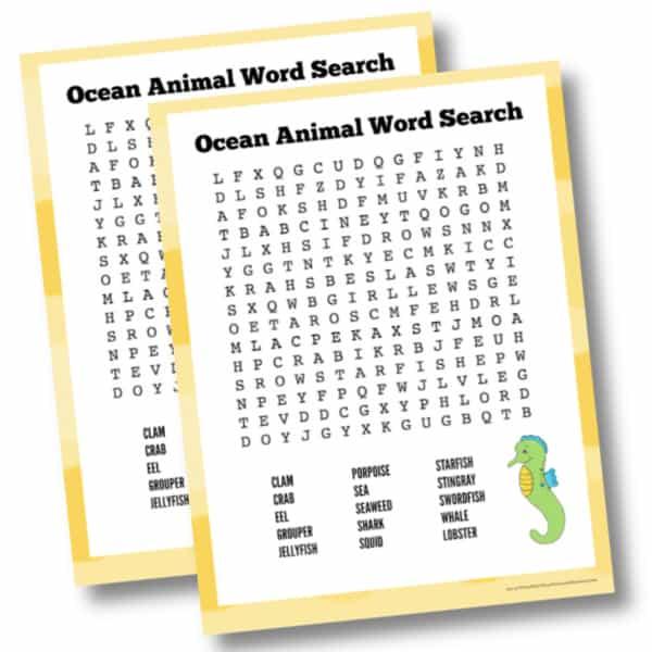 Color ocean word search 2 mockup