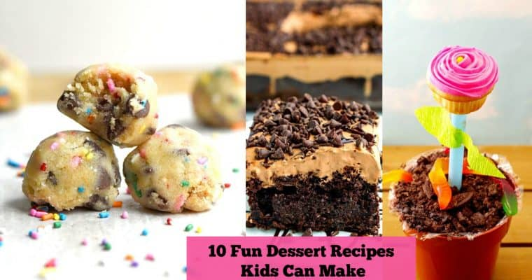 10 Easy Dessert Recipes for Kids to Make by Themselves
