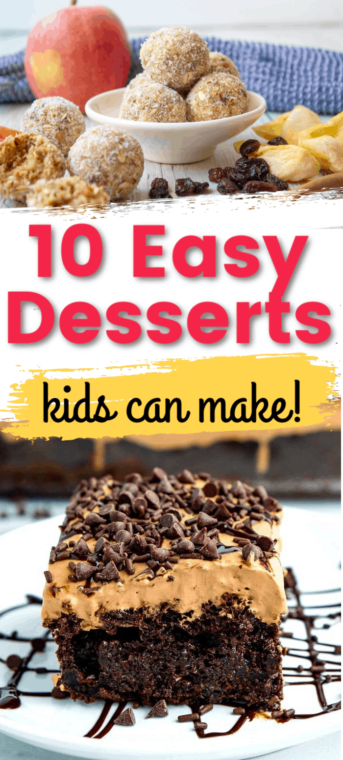 Easy Desserts kids can make