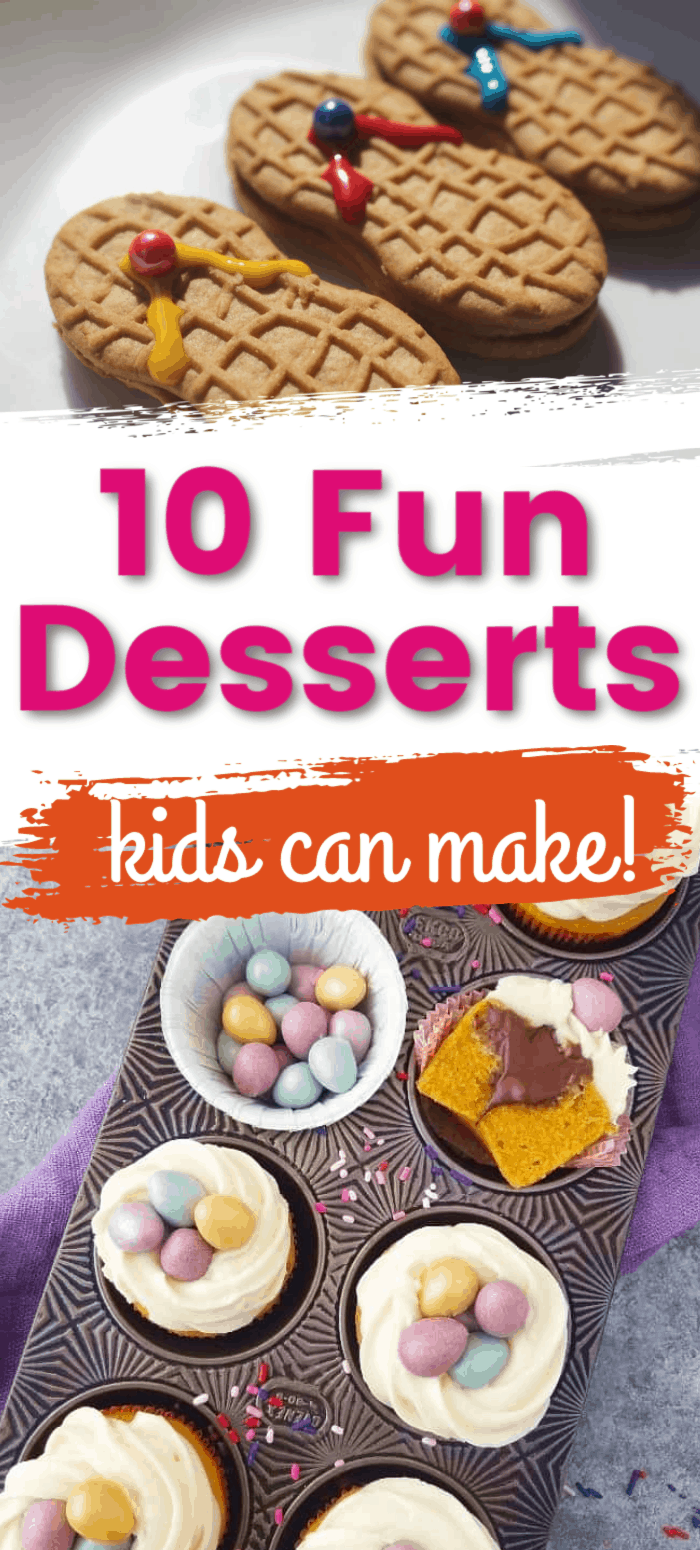 Cute Easy Desserts Kids Can Make