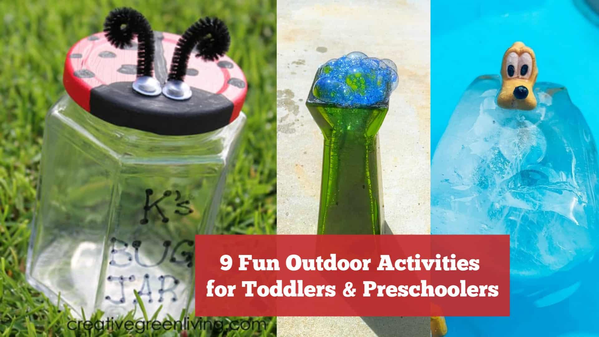 9 Fun Outdoor Activities for Toddlers and Preschoolers