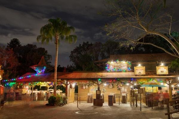Disney World Jingle Cruise at Christmas
