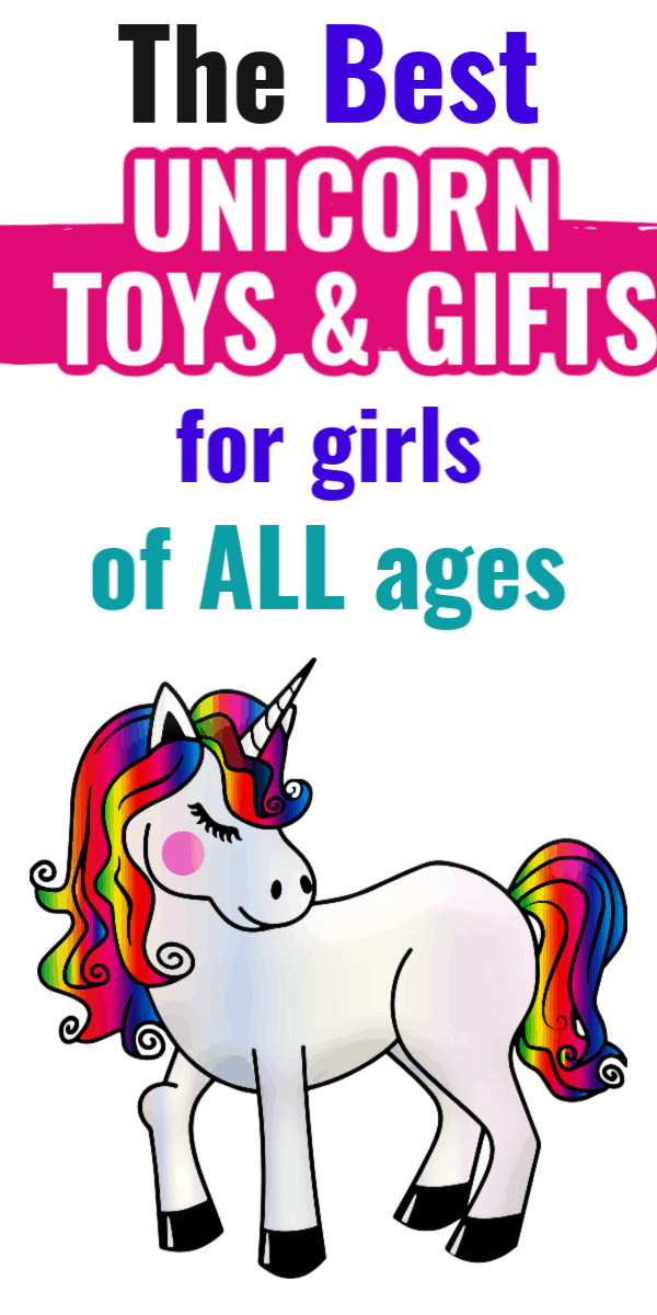 Unicorn Toys and Gifts for Girls