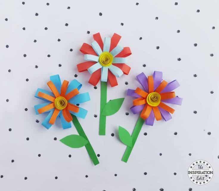 Summer Paper Flower Craft