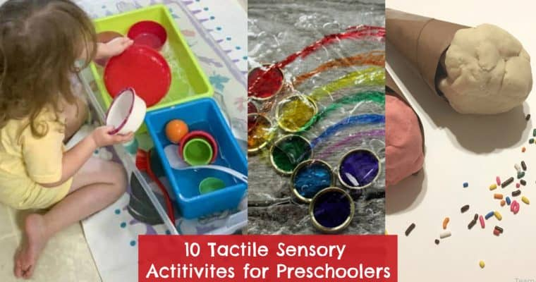 10 Easy Sensory Activities for Preschoolers: Bins, Bottles, and Playdough