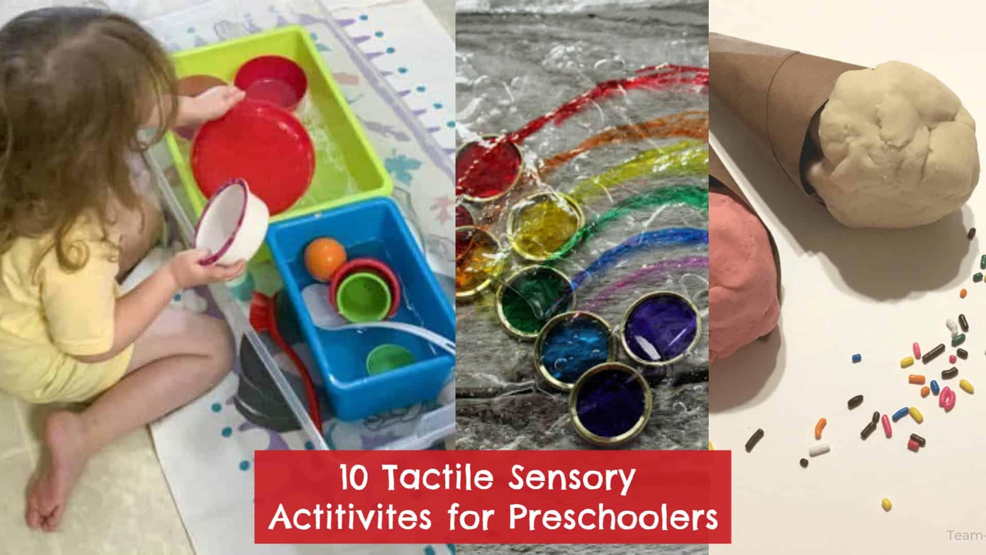 10 Easy Sensory Activities for Preschoolers: Bins, Bottles, and Playdough