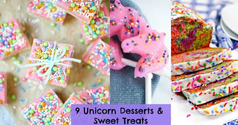 9 Unicorn Party Food Ideas: Popcorn, Rice Krispie Treats, & Fudge