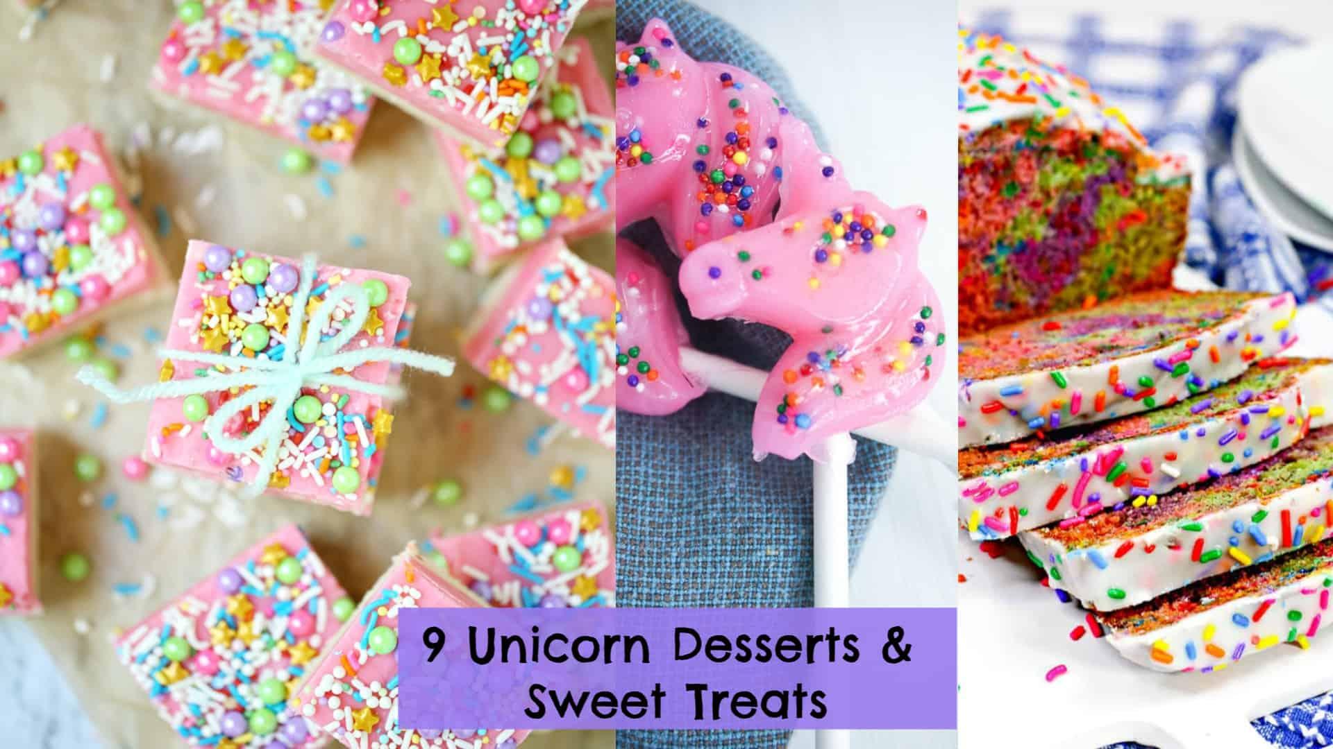 9 Unicorn Party Food Ideas: Popcorn, Rice Krispie Treats, & Fudge