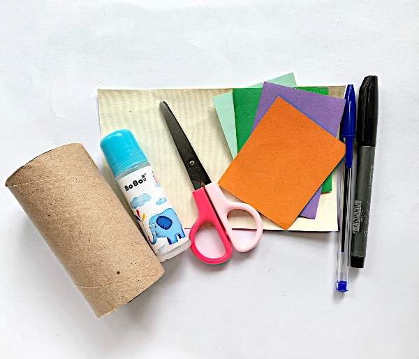 Supplies for Mermaid TP roll craft