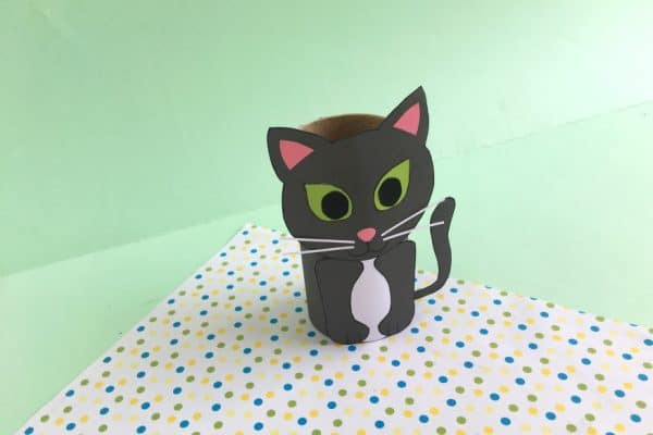 Toilet Paper Roll Cat Craft for Kids