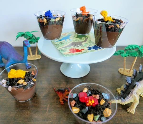 Dinosaur Dirt Pudding Cups: An Easy Recipe for Kids