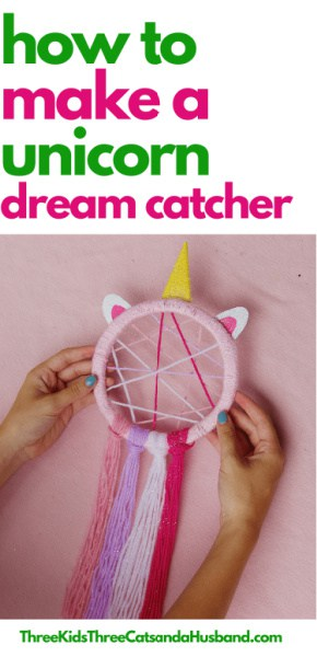 How to Make a Unicorn Dream Catcher