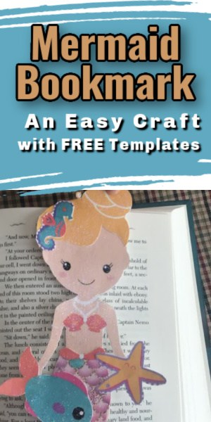Mermaid Bookmark Craft for kids