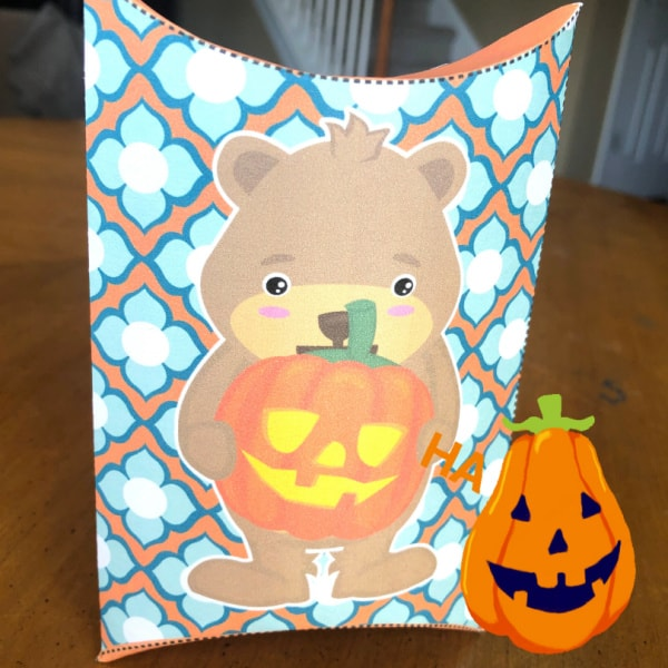 Finished Halloween treat box