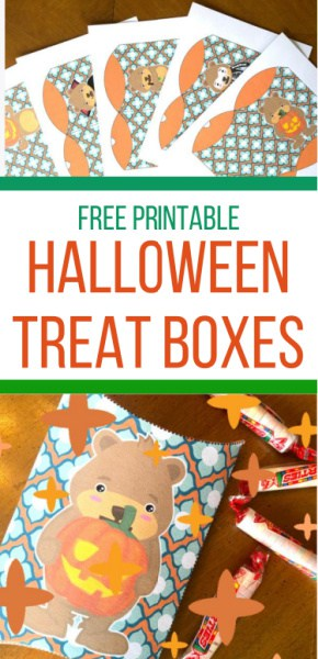 DIY Halloween treat box