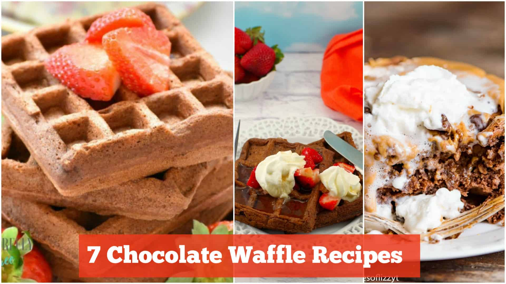7 Delicious Chocolate Waffle Recipes Made From Scratch