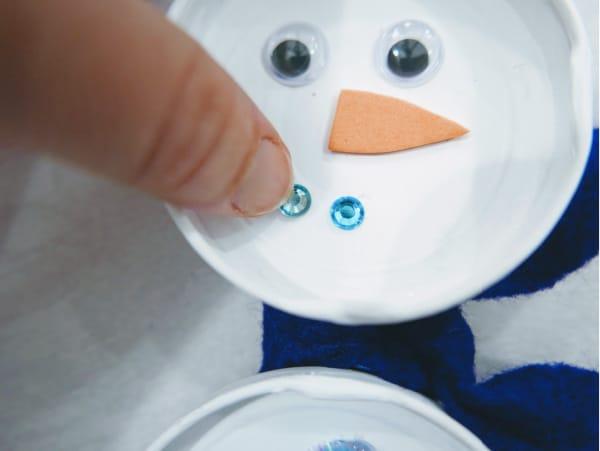 Make snowmans smile