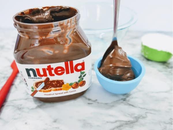 Nutella for edible playdough