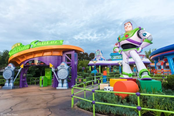 Alien Swirling Saucers at Toy Story Land in Disneys Hollywood Studios