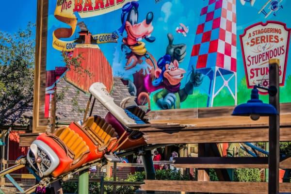 Barmstormer ride at Disney Worl