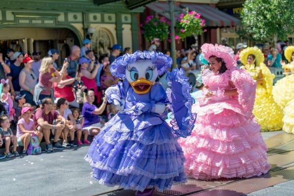 Daisy Duck in Disney Character Parade
