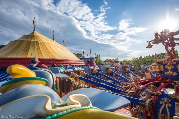 Dumbo ride at Walt Disney World