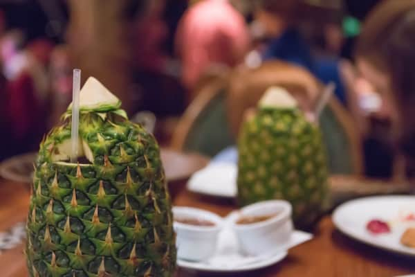 Tambu Lounge at the Polynesian Resort