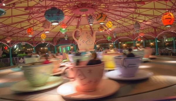 Mad Tea Party ride at Disney World
