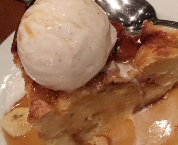 Bread Pudding at Ohana in Disney World