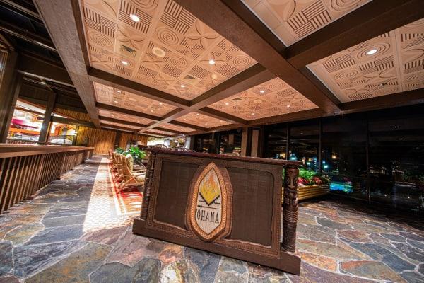 Ohana restaurant in Disneys Polynesian Resort