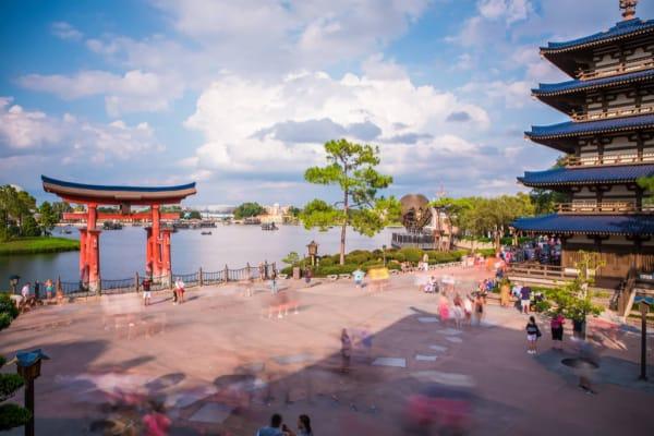 World Showcase at Disney Worlds Epcot